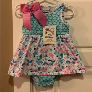 Baby Girl Mermaid Dress 18M NWT